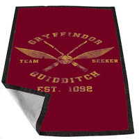 harry potter gryffindor quidditch team captain 2 e3555f8c-401b-4553-86d2-4a97405d0b49 for Kids Blanket, Fleece Blanket Cute and Awesome Blanket for your bedding, Blanket fleece *02*