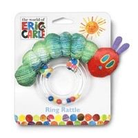 World of Eric Carle, The Very Hungry Caterpillar Ring Rattle by Kids Preferred