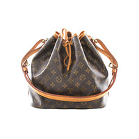 Authentic Louis Vuitton Petit Noe monogram shoulder bag M42226