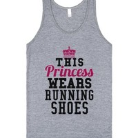 This Princess Wears Running Shoes Tank Top Pink Blk Id822337-Tank