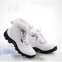 Genuine Leather Winter Warm Shoes