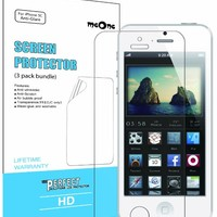 meOne 5-Pack Anti-Glare & Anti-Fingerprint (Matte) iPhone 5C Screen Protector (Ship out orders within 24 hours except on Sundays)
