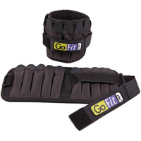 GOFIT GF-P10W Padded Adjustable Pro Ankle Weights