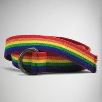 Rainbow Web Belt