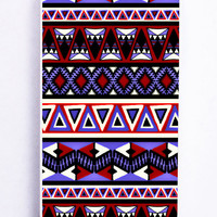 Chevron Blue Tribal for Iphone 5 / 5s Hard Cover Plastic