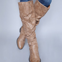 Out West Taupe Boots