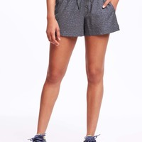 Go-Dry Semi-Fitted Shorts for Women | Old Navy