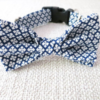 Daisy Bow Tie & Dog Collar