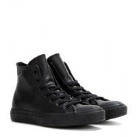 converse - chuck taylor all star leather high-top sneakers