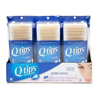 Q-tips Cotton Swabs, Triple Pack