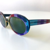 vintage RAY BAN Bewitching multicolor sunglasses USA made rare 1970s women