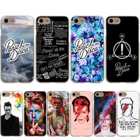 Panic At The Disco David Bowie Case for Apple iPhone X 8 7 6 6S Plus 5 5S SE