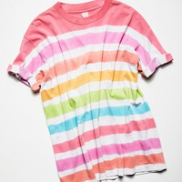 Free People Vintage 1980s Striped Tee