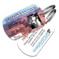 Arizona Driver's License Pet Tag