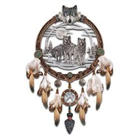 Visions Of The Sacred Spirits Wall Decor Art: Dreamcatcher Replica by The Bradford Exchange