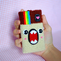 iPhone Cover / Cozy of Instagram Monster  - (ready to be shipped)