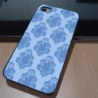 DR WHO TARDIS PATTERN - iPhone 5 case, iPhone 4 case, iphone 4s case hard case FDL