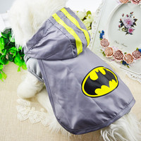 Summer Dogs Shirt Pets Costume Bat Pet's Accessory