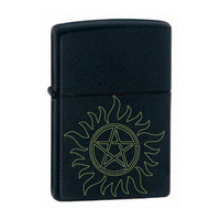 Custom engraved Anti-posession supernatural lighter, engraved Zippo lighter made in the USA