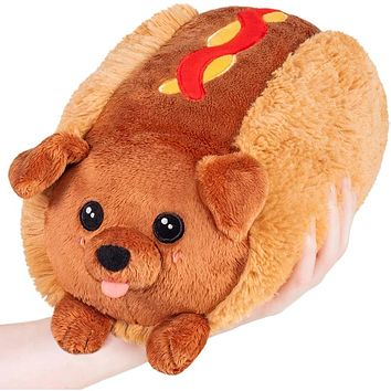Squishable Mini Dachshund Hot Dog 7""