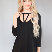 Mercury Strappy Detail Top