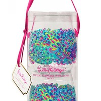 Lilly Pulitzer Lilly's Lagoon Acrylic Stemless Wine Glasses