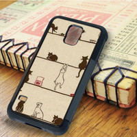 Cats cat pattern Animal   For Samsung Galaxy S6 Cases   Free Shipping   AH1020