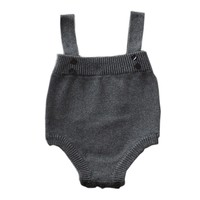 Pretty Baby Overalls Knitted Pants Toddler Girl & Boy One-piece Dungarees Brace Shortalls Trousers YM10KZ
