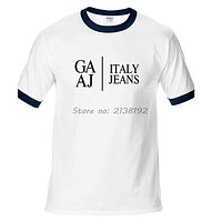 Italy Jeans Man T-Shirt Raglan Sleeve Famous Designer T Shirt Men Clothing Home Funny gift for male
