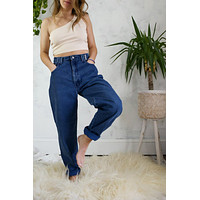 "Vintage Sasson High Rise Mom Jeans - 28"" Waist"