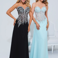 Strapless Sweetheart Tony Bowls Le Gala Formal Prom Dress 114521