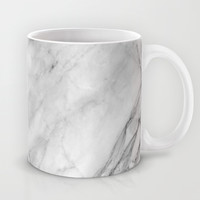 Marble Mug by Patterns And Textures