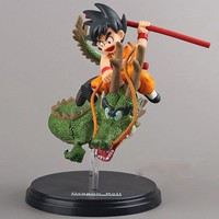 Dragon Ball Z Kid Goku Riding Dragon PVC Action Figure