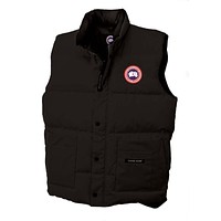 Canada Goose Jacket Men's Freestyle Vest Black Xssmlxlxxl
