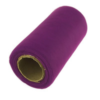Premium Tulle Spool Roll, 6-inch, 25-yard, Ultra Violet