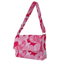 Pink Candy Full Print Messenger Bag