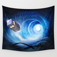 Doctor Who Wall Tapestry by Joe Roberts