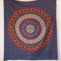 Plum & Bow Medallion Tapestry   Urban Outfitters