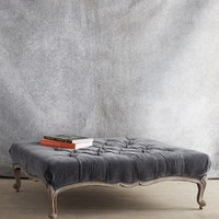 Tufted Viola Ottoman by Anthropologie