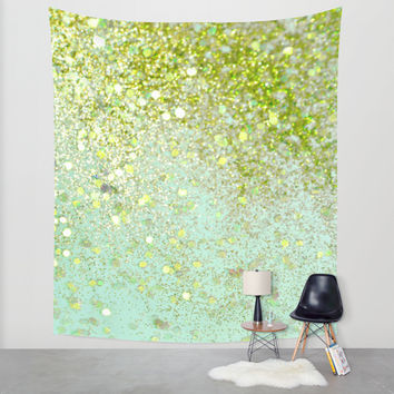 Jaded Blitz Wall Tapestry by Lisa Argyropoulos