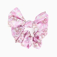 My Melody Hair Scrunchy: Berry Flower