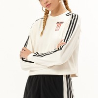 3-Stripes Logo Crew Neck Sweatshirt | PacSun
