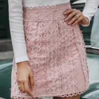 New cotton A-line skirt holiday style fashion casual skirt women