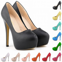 Ultra fashionable nightclubs wind Matt bride shoes super high heels shoes shoes Luolandifen waterproof 817-1MA = 1930032900