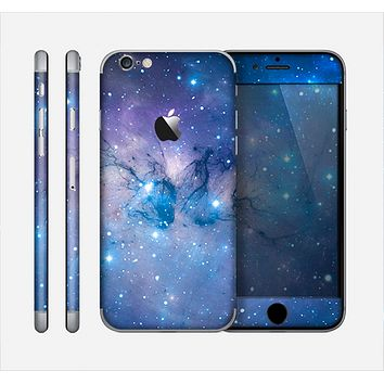 The Blue & Purple Mixed Universe Skin for the Apple iPhone 6