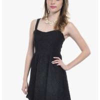 Black Feeling Lovely Mini Dress | $10.00 | Cheap Trendy Casual Dresses Chic Discount Fashion for Wo