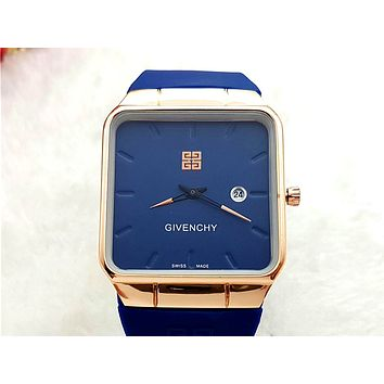 Givenchy 2019 new men and women models simple wild quartz watch 5