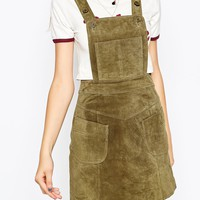 ASOS Mini Suede Overall