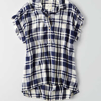 AEO Ahh-mazingly Soft Short Sleeve Shirt , White