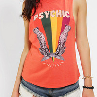 Urban Outfitters - Corner Shop Psychic Cheetah Muscle Tee